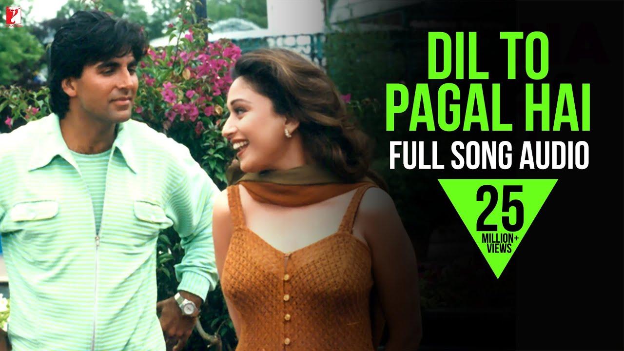 Download Dil To Pagal Hai - Full Song Audio   Lata Mangeshkar   Udit Narayan   Uttam Singh