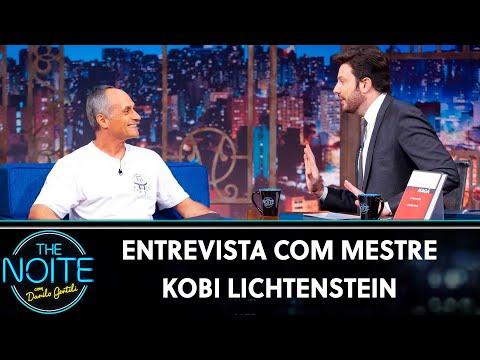 Entrevista com Mestre Kobi Lichtenstein  The Noite 150719
