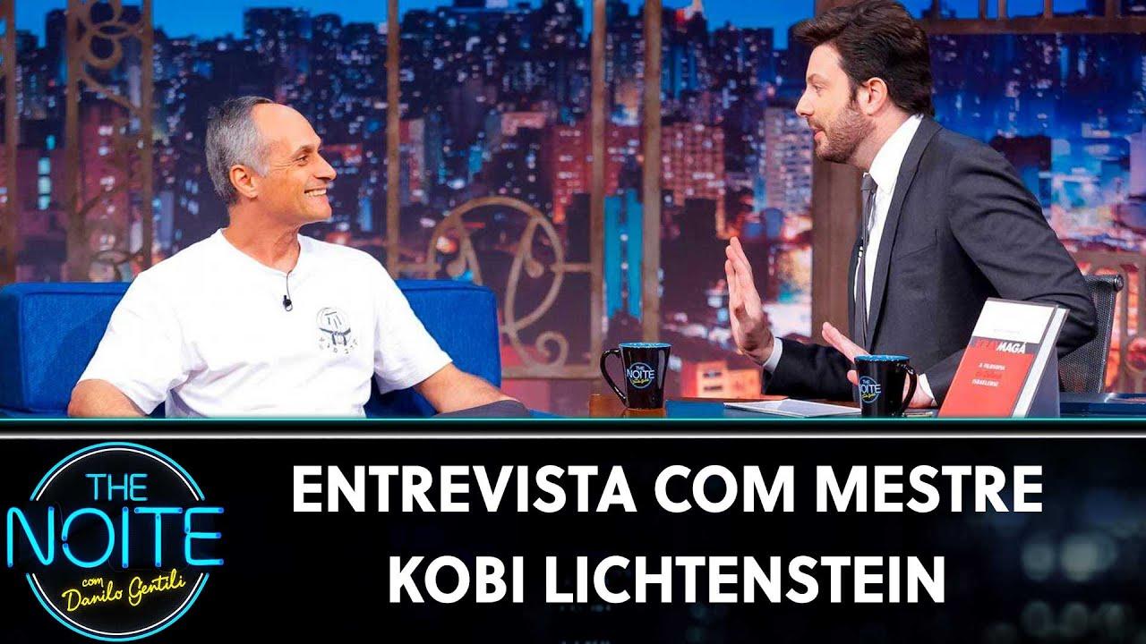 Entrevista com Mestre Kobi Lichtenstein | The Noite (15/07/19)