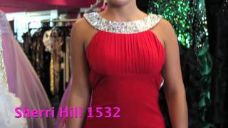 Sherri Hill 1532 - Sexy Backless Cocktail Dress - Homecoming Dress 2012