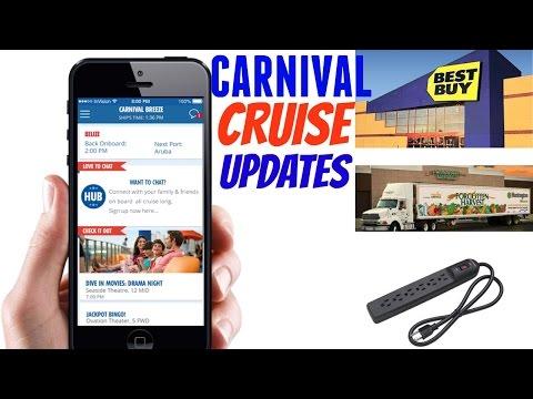 Carnival Cruise Updates! | NEW Hub App, Decorations & Surge Protectors!