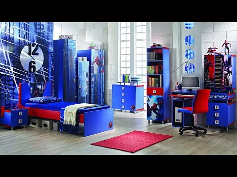 boys bedroom ideas - boys bedroom design - boys bedroom ideas super hero