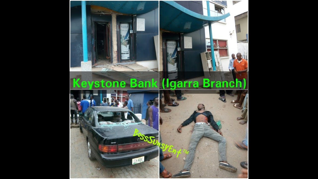 Image result for Photos of Bank Robbery In Igarra, Edo State.