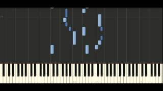 Bach - Partita in c minor, BWV 826 - Piano Tutorial Synthesia