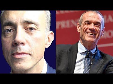 Faccia a faccia tra Alberto Micalizzi e Carlo Cottarelli