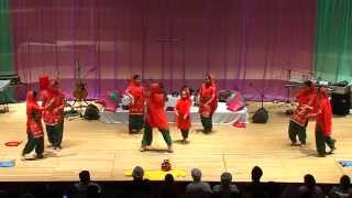 Giddha Sansaar performing at the Ram Shelter Charity Concert 2014 (HD)