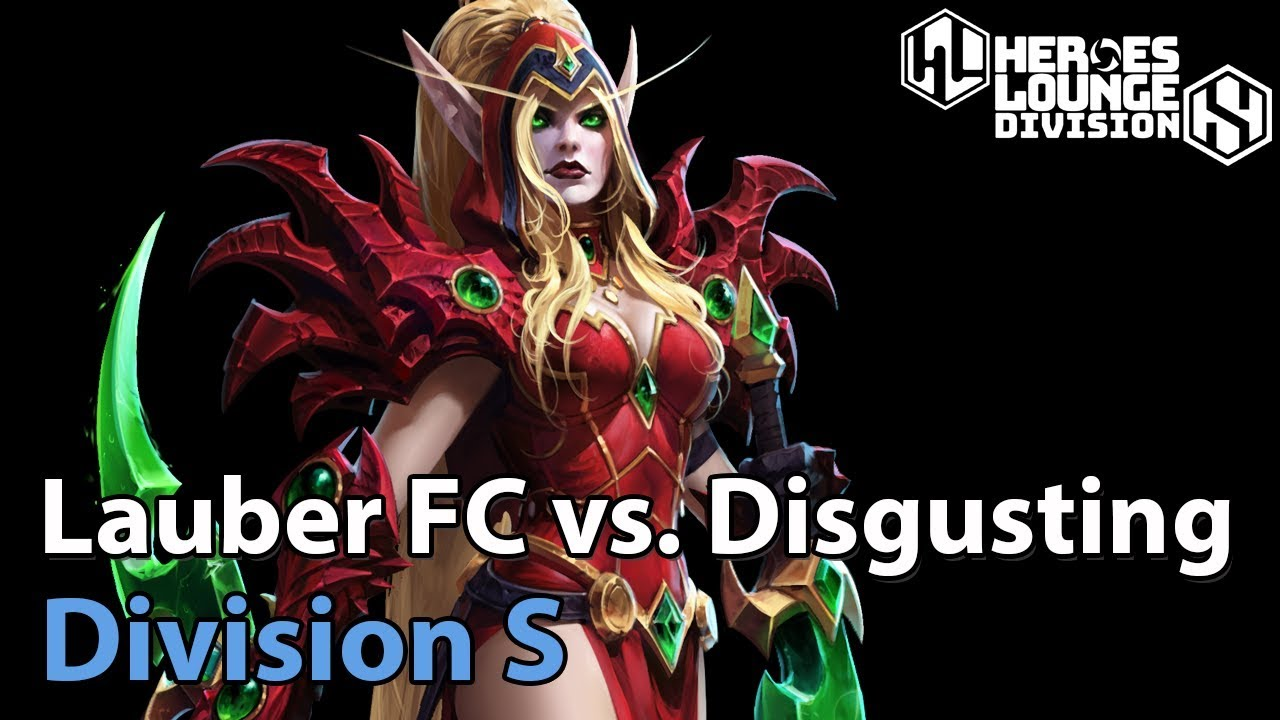 ► Lauberes Fanclub vs. Disgusting - Division S - Heroes of the Storm Pro Play