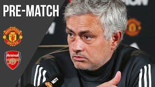 Jose Mourinho | Press Conference | Manchester United v Arsenal