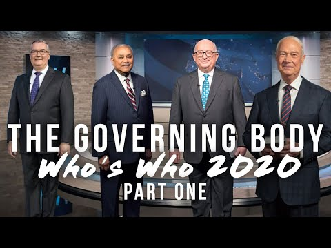 The Governing Body: Who's Who 2020 - Part One (Cook, Herd, Jackson, Lett)
