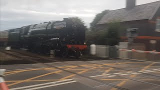 br standard class 7 70000 britannia locomotive - Video