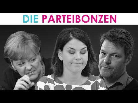 Die Grünen mit Habeck, Hofreiter & Baerbock nicht besser als Merkel, Laschet und Söder