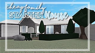 Bloxburg: Cheap Family Starter House