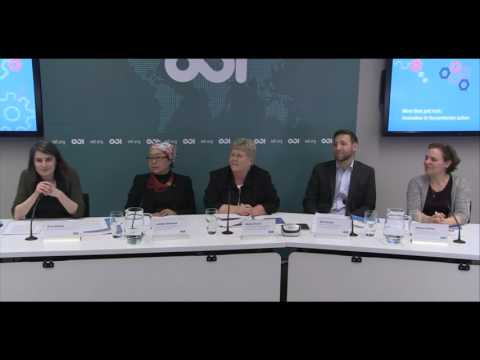 Innovating humanitarian action: more than just luck - Panel discussion