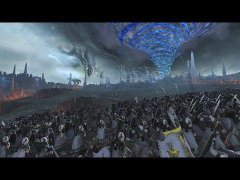 Total War Warhammer 2 Final Vortex Battle (High Elves)