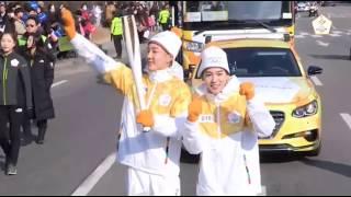20180105 JinWoo , SeungHoon- PyeongChang 2018 Olympic Torch Relay