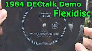 DECtalk Flexidisc Demo 1984