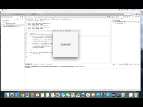 Create your first JavaFX 8 Application with Eclipse – All for