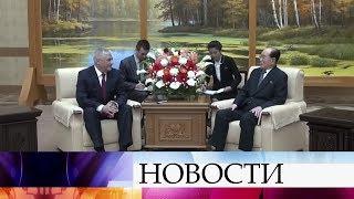 В Пхеньяне обсудили развитие сотрудничества правоохранительных органов России и КНДР.