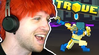 TROVE PTS - PLAYING VANGUARDIAN, NEW BIOME, MEGA WORLD BOSSES & MORE!!!