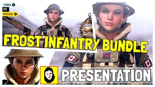 *New* FROST INFANTRY BUNDLE - PRESENTATION & UNBOXING - Rainbow Six Siege NEWS - Canadian JTF-2