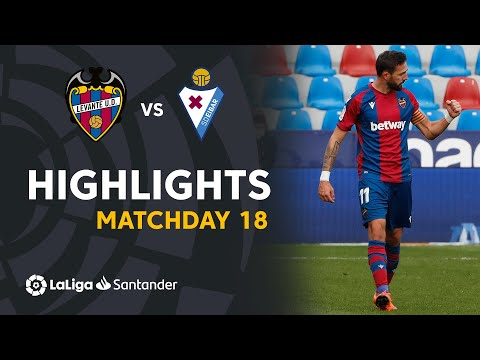 Levante Eibar Goals And Highlights