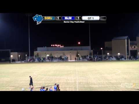 Replay: StMU Women's Soccer vs. McMurry (Part 2)