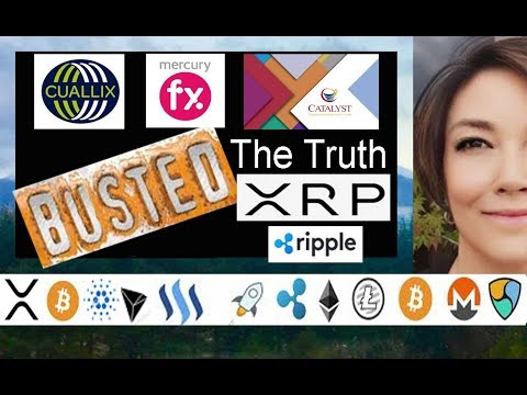 The Truth about XRP & 3 of its customers Cuallix, Mercury FX, Catalyst Corporate Credit Union