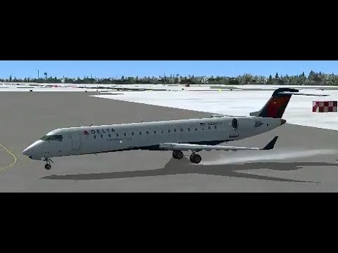 Delta CRJ700 Live From Rochester To Syracuse!