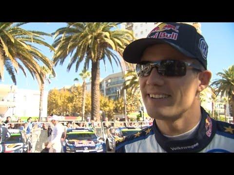 Sébastien Ogier Interview - Rallye de Catalogne #GOgier