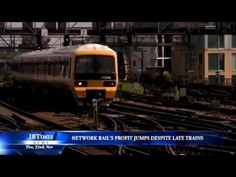 Network Rail's profit jumps despite late trains