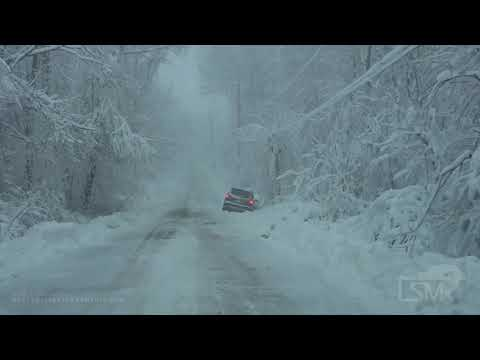 12-01-2020 Painesville, OH - Significant Lake Effect Snow from Winter Storm Dane