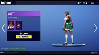 'NOUVEAU' 'LUDWIG' 'HEIDI' SKINS 'GILDER ' AXE IN ITEMSHOP MAINTENANT! FORTNITE BATTLE ROYALE