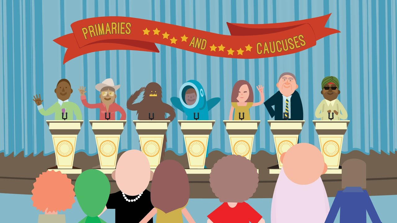 How We Choose Our President: Primaries and Caucuses - YouTube