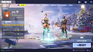 Another FortNite Livestream.... Yay! [for real this time x3]