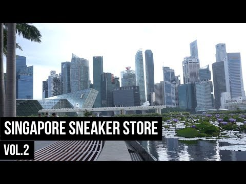 THE SNKRS - SINGAPORE SNEAKER STORE VOL.2
