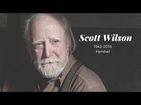 Scott Wilson  Rest In Peace Hershel