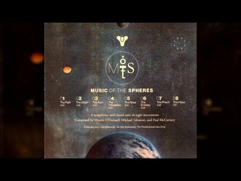 MUSIC OF THE SPHERES | MARTIN O'DONNELL, MICHAEL SALVATORI & PAUL MCCARTNEY