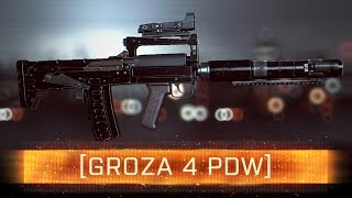 ► Groza 4 Weapon Review! | Battlefield 4