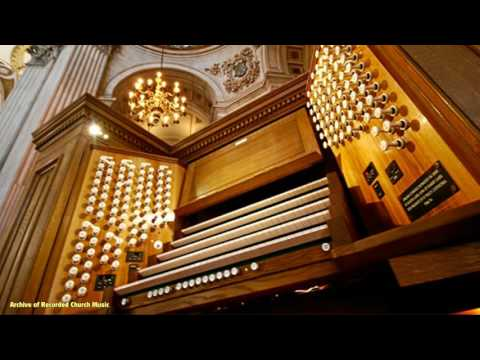 "UNISSUED RECORDING - Elgar's ""Organ Sonata"": John Scott St Paul's Cathedral 1984"