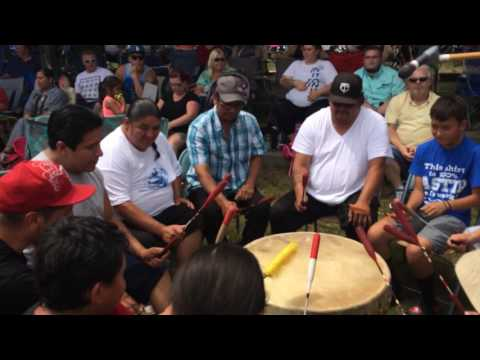 Young Kingbird at L.C.O. Honor the Earth pow wow 2017