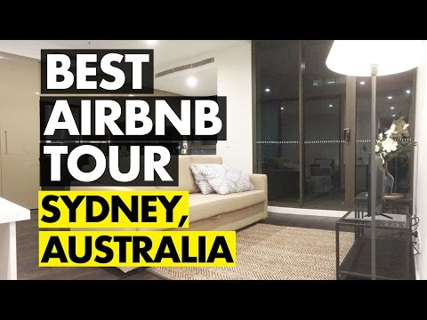 Sydney, Australia--AIRBNB APARTMENT TOUR & REVIEW!!!