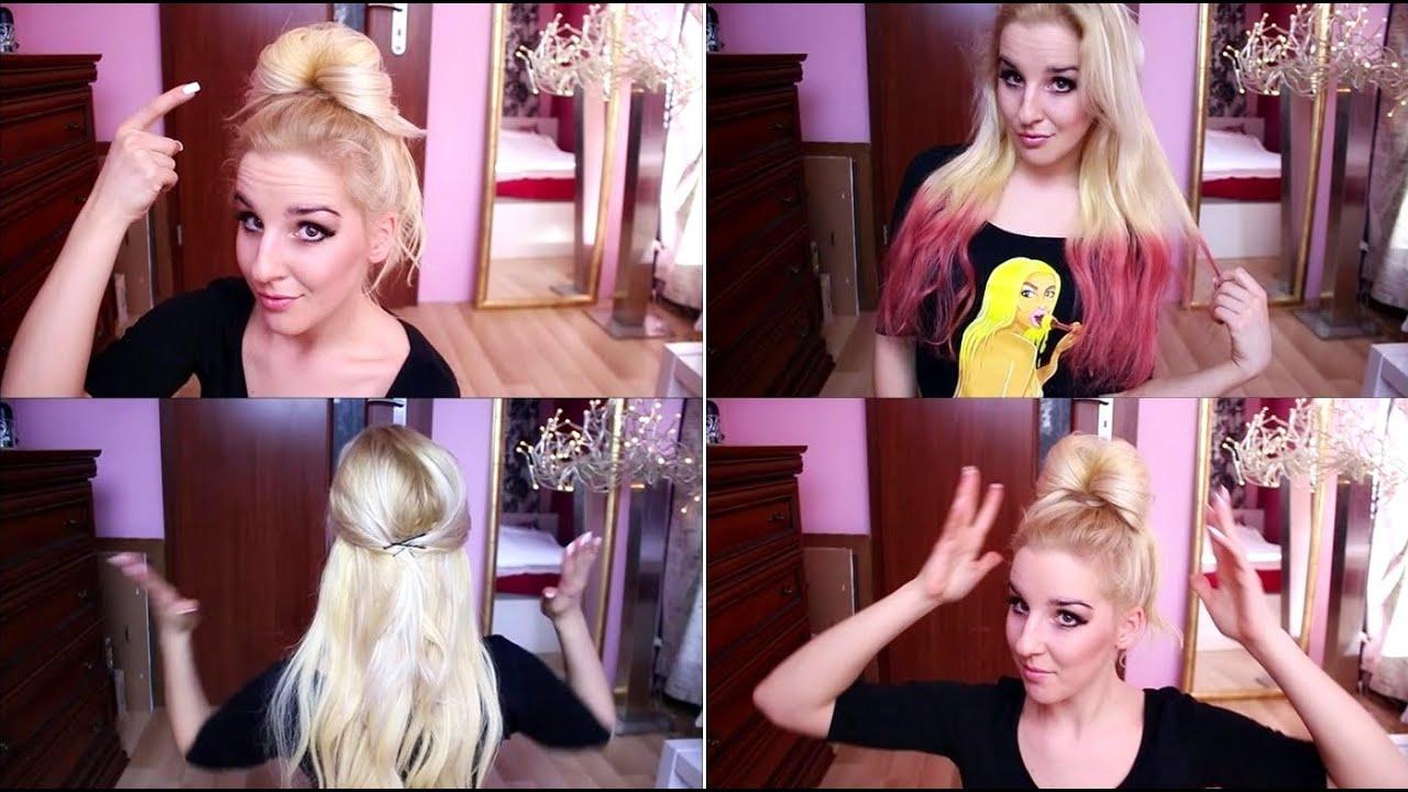 Moje Trzy Ulubione Fryzury Z Doczepianymi Włosami Beauty Hair