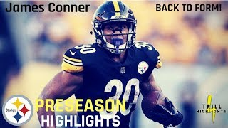 James Conner Full Preseason Highlights | Improved Preseason 2018