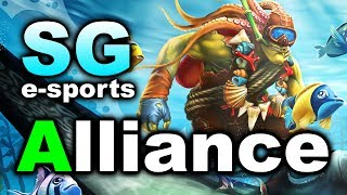 ALLIANCE vs SG - GRAND FINAL - THE FINAL MATCH DOTA 2