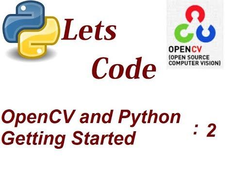 Python OpenCV BGR RGB Manipulation