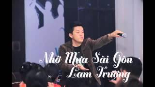 [Audio] 5. Nhớ Mưa Sài Gòn   Lam Trường