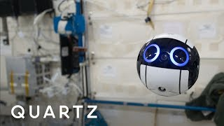 Int-Ball: The cute floating Japanese camera on the ISS