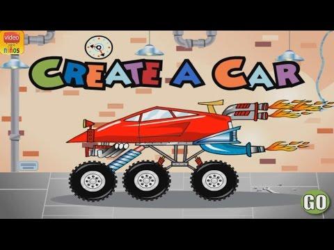 Create a Car - Kindergarten Skill Games