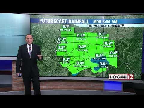 WKRC Local 12 News - Good Morning Cincinnati Saturday - Main Weather - Saturday 10/13/18
