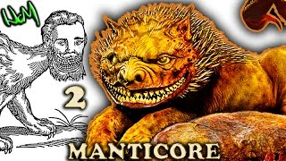Manticore - Movies, Ecology, Abilities, Life, Similar Beasts (PART 2 of 2) MONSTER
